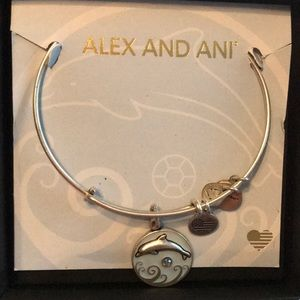 NEW Alex and Ani Dolphin